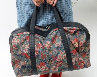 Floral Extra Large Weekend Bag