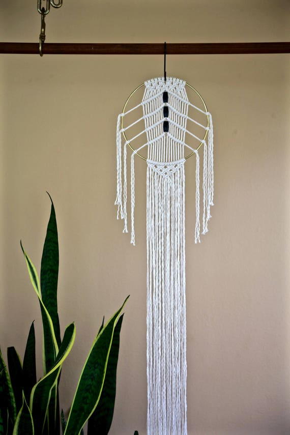Beaded Macrame Dream Catcher (Small)