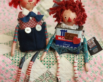 Raggedy Canfolk Couple