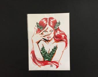 Poison Ivy (Original Art)