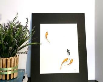 """""""Simple"""" Original Watercolor Art"""