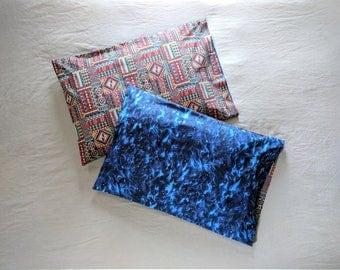 "Ancient Corn Maze Pillowcase Set - Night Sky - Reversible! - Standard Size - Cotton - 20 x 30"""