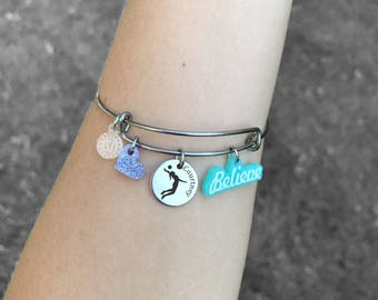 Volleyball Bracelets, Volleyball Gifts, Volleyball Jewelry, Girls Volleyball Gift, Volleyball Player Gift, Girls Volleyball Team Gift