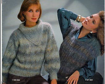 Musetta Sweaters to knit Pattern book Handcrafter 564