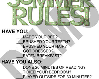 Downloadable Summer Rules