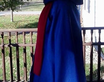"Phantom of the Opera Christine ""Wishing"" cloak - Masquerade Cloak - Renaissance Circle Cloak  - Medieval Cloak - Long Hooded Cloak"