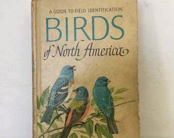 Vintage Birds of North America hardbound book 1966 edition