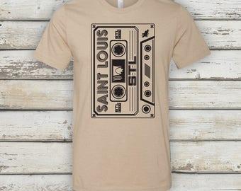 STL Cassette T-Shirt