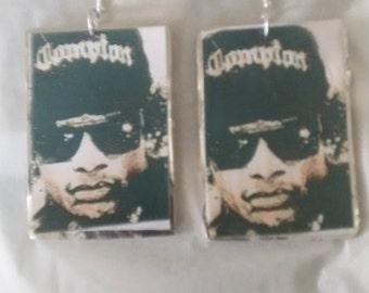 Large easy e earrings
