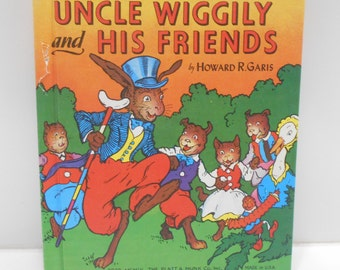 Vintage 1989 Copyright Uncle Wiggily And His Friends (28) Platt & Munk