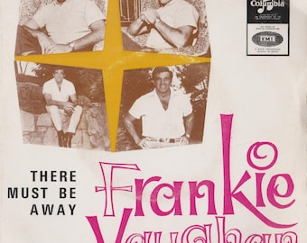 """FRANKIE VAUGHAN There Must Be A Way 1967 Portugal Issue Rare 7"""" 45 rpm Vinyl Single Record Jazz Pop Easy Listening  60s SLEM2300"""