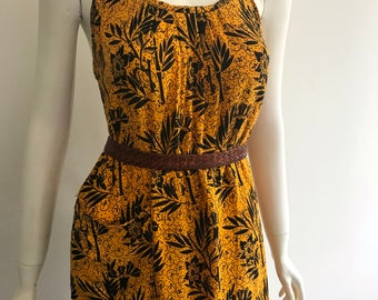Batik summer moo moo dress