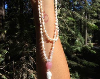 Fresh Water Pearl Mala Beads