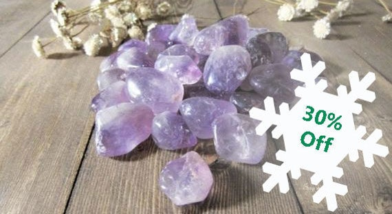 Tumbled Amethyst Stones, Amethyst, Polished, Tumbled Gemstones, Crystal, Gemstones, Healing, February Birthstone, Amethyst Jewelry,