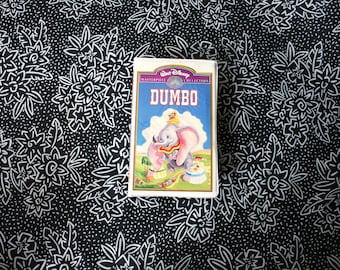 Dumbo Walt Disney Masterpiece VHS Tape. Original Rare 1994 Walt Disney Masterpiece VHS Collectible Movie. Dumbo VHS