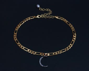 Midnight Moon Choker