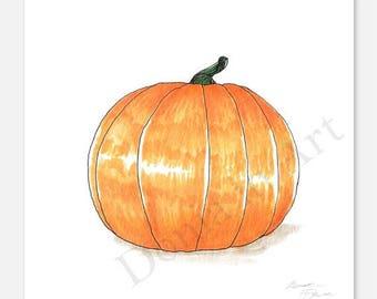 Vegetable Art, Pumpkin Drawings, Kitchen Art, Pumpkin, Gourds, Pumpkins, Halloween, Autumn, Fall, Autumn Art, Fall Art, Autumn Decor