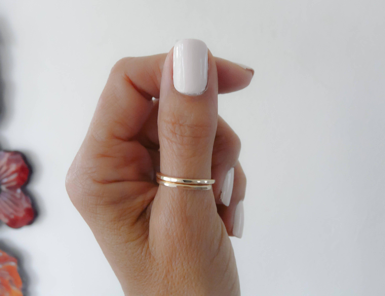 un anneau de pouce plaqu or bague pouce bague femme anneaux. Black Bedroom Furniture Sets. Home Design Ideas