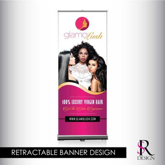 Retractable Banner, Design Included