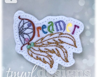 Dreamer Feltie Digital Design File - 1.75""