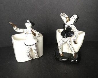 Pair of Enesco Imports Planters Ballerinas