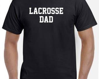 Lacrosse Dad-Lacrosse Shirt Funny Lacrosse Gift