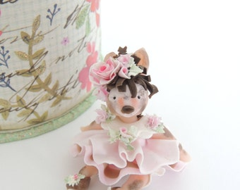 Sale Donkey Oddie  Miniature Figurine Collectible Doll