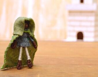 Felt Boy Doll - felt elf doll, waldorf fairy doll, waldorf fairies, boy fairy doll, boy fairies, felt waldorf doll, boy waldorf doll