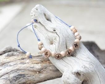 eucalyptus seed pod bracelet/anklet