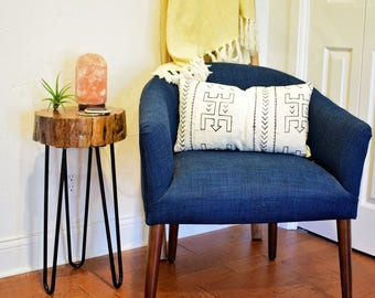 Mesquite Side Table - Hairpin Legs