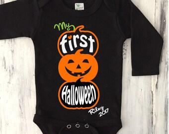 My First HALLOWEEN Onesie Personalized Newborn Halloween