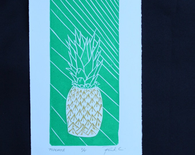 Pineapple Small Edition Print
