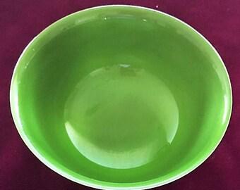 Vintage Small SILVERPLATED REED & BARTON 101 Green Bowl