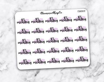 It's MONDAY stickers