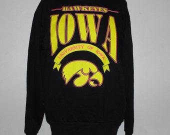 Vintage Iowa Hawkeyes NCAA Crewneck Sweatshirt M