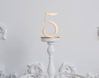 Wedding table numbers, Gold Table Numbers, Plain wood, Wedding Table Decor, Table Numbers, Wedding centerpieces, Table Numbers Wedding