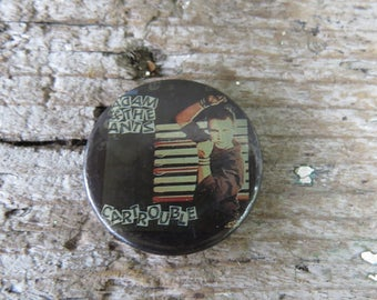 """Vintage Adam and the Ants Car Trouble Button- Pin -  1 1/4"""" pin back button"""