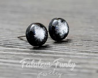 Glossy silver-Black Kreisohr plug