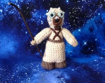 NEW! Tusken raider / sandpeople !Star Wars inspired crochet character