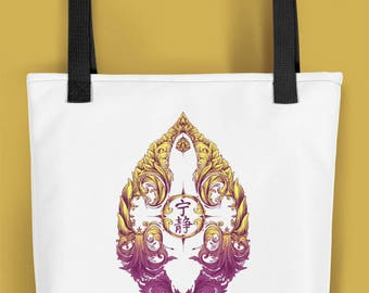 Leaf on the Wind Firefly Serenity Tote Carry Bag Serenity Victoriana