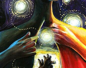 Letting Go - Original Painting