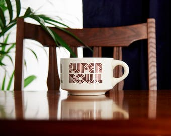 Super Bowl Soup Mug - Soup Bowl - Unique Mug - Funny Mug - Statement Mug - Coffee Mug - Ceramic Mug - Ceramic Bowl - Unique Soup Bowls