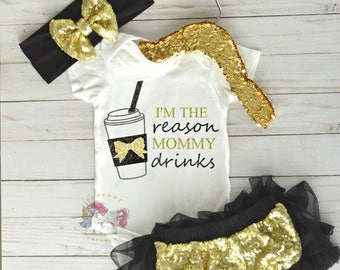 Momlife Shirt, Coffee Onesie, Drink Shirt, Mommy Onesie, Fun Custom Onesie, Baby Onesie, Toddler Onesie