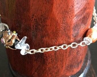 Quartz & Pearl Bracelet