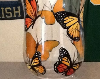 Butterfly glass hurrican