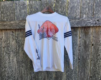 Carlsbad Cavern National Park New Mexico Vinage Long Sleeve Shirt 80s S Small