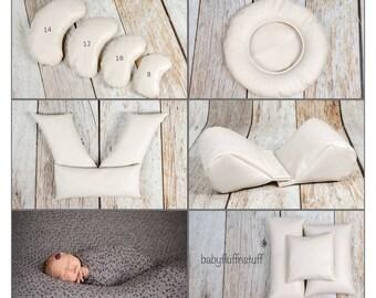 Save 10.00 - Nest Poser, Wedge Poser Pillows, Cloud Posing Pillows, Three Pack of Posing Pillows and Froggy Posing Pillows