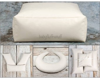Studio Square or Round Poser, Froggy Posing Pillows, U Posing Pillow and Three Pack of Posing Pillows