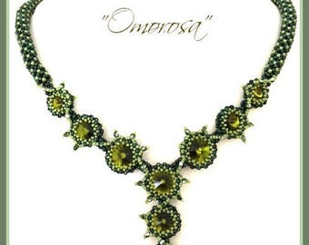 Beading Kit: Omorosa Necklace in English(beads only!) D.I.Y