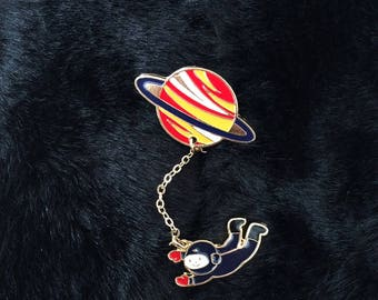 Astronaut Enamel Pin